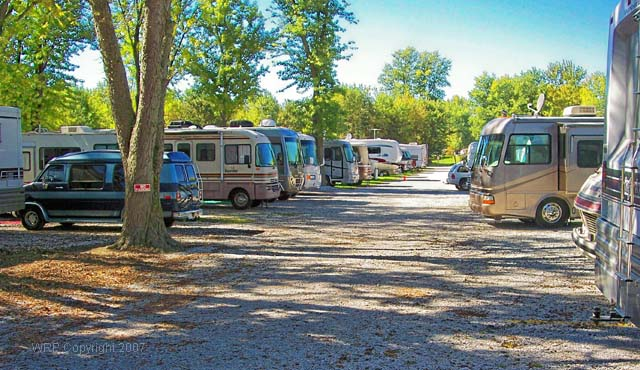 RV Park - Bridgeton, Indiana